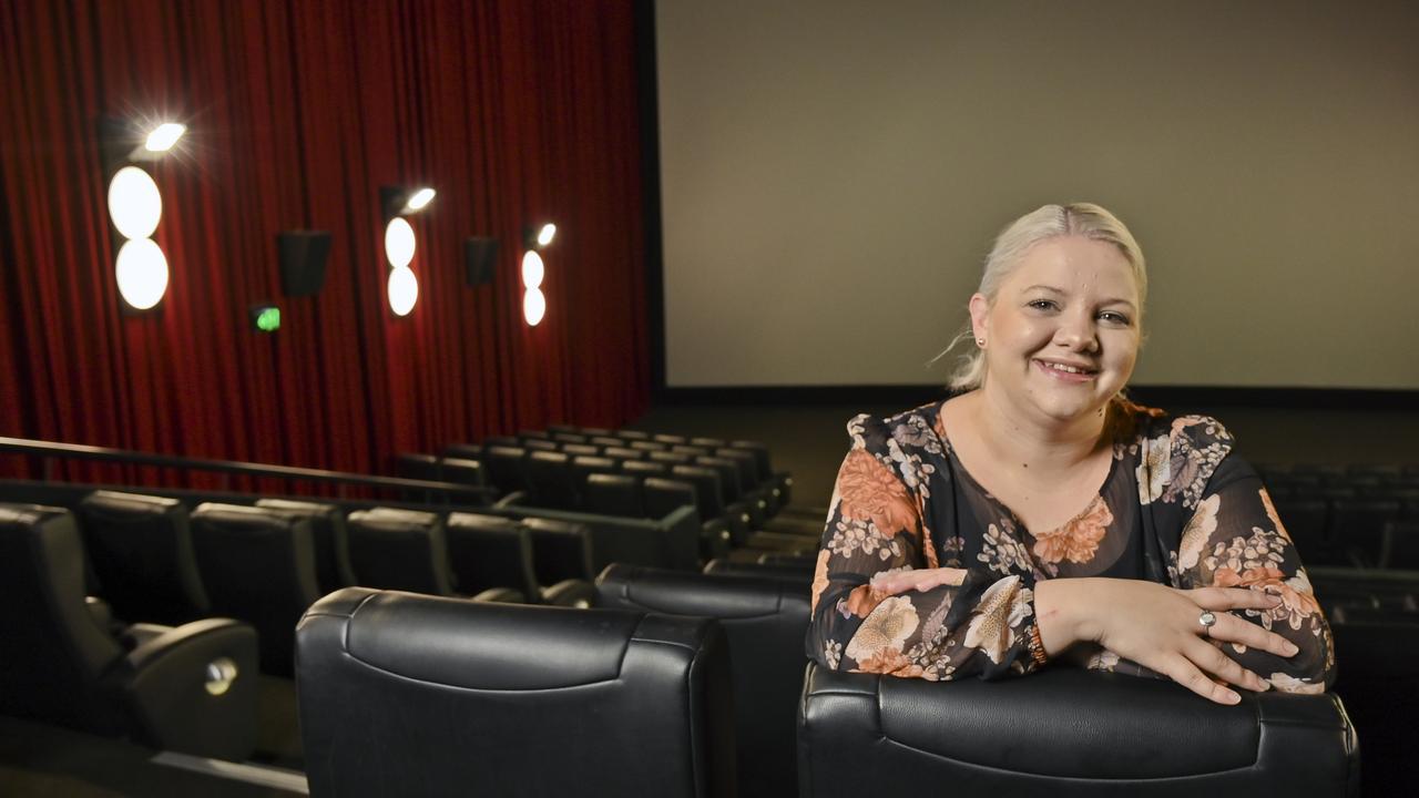 Limelight Cinemas general manager Alexis Poulsen. Picture: Cordell Richardson