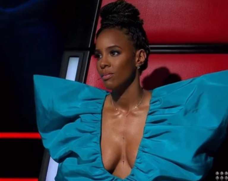 Kelly Rowland was not having it.