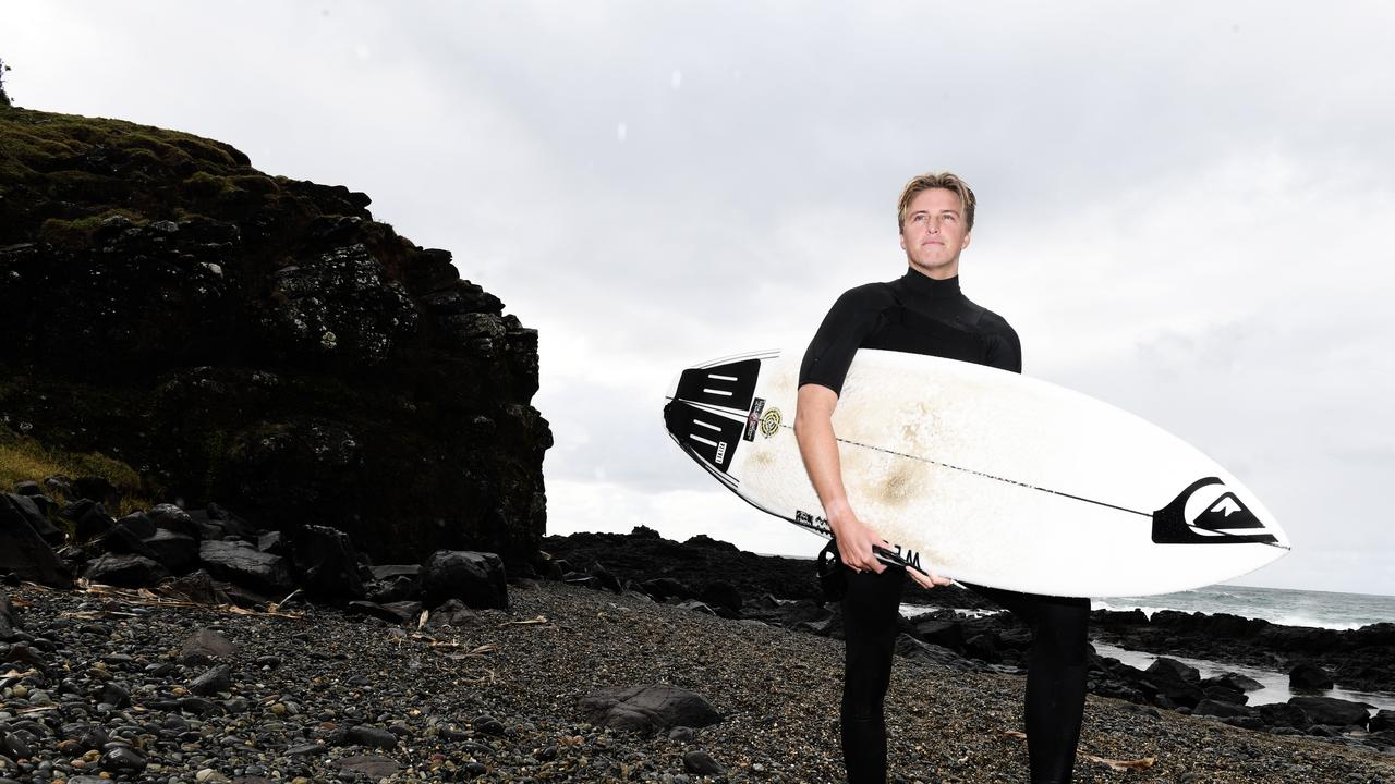 Local surfer Zac Wightman is doing a 100 day surf challenge with two mates.