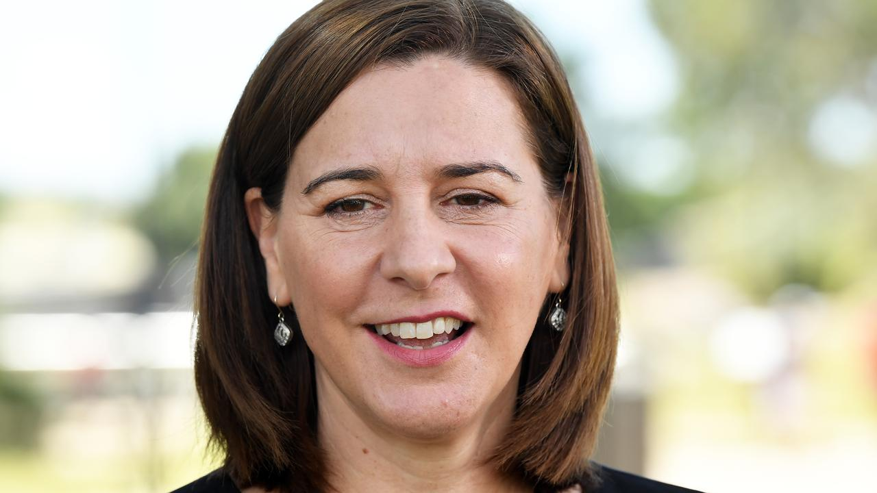 Opposition Leader Deb Frecklington says the LNP will slash power bills . Photo Patrick Woods