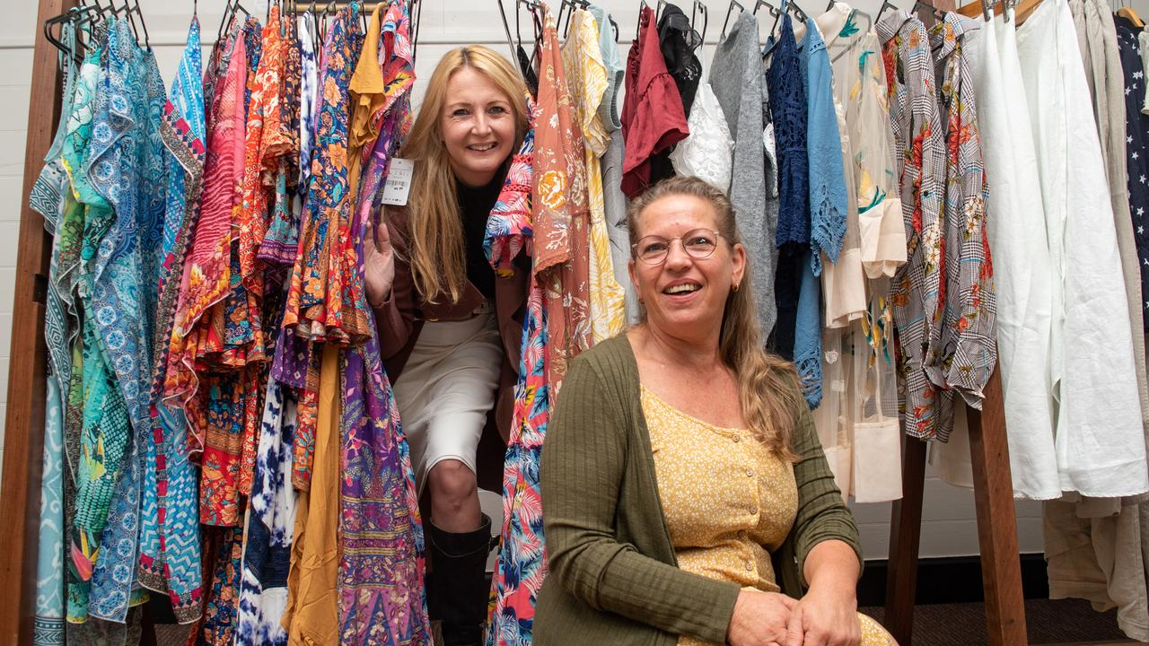 Tracey Jones opened a new business in Toogoolawah called Tracey Jones Boutique, with Debra Morgan. PHOTO: ALI KUCHEL