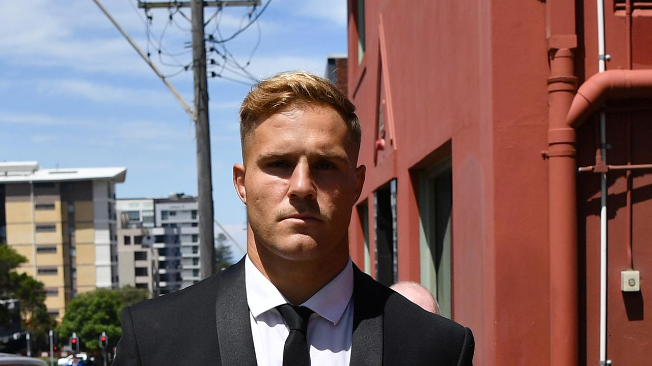 The Jack de Belin court case has been a source of major frustration for the Dragons. Picture: AAP