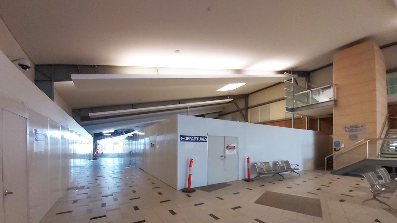 Rockhampton airport.
