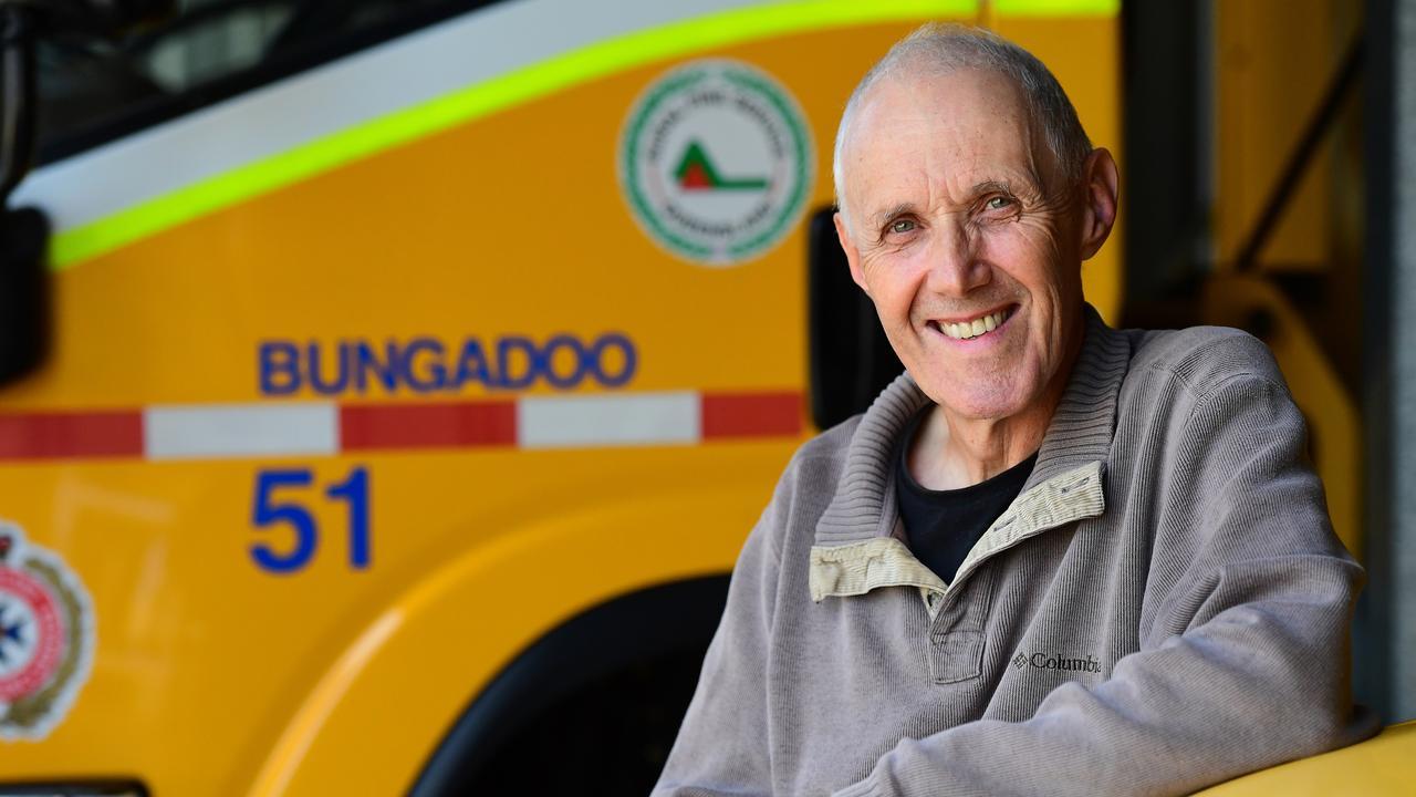 Rural Fire Brigades Association Queensland Inc. Bundaberg Area representative Dave Morton.