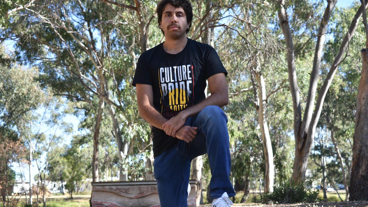 Lane Brookes is a proud indigenous advocate and says now is the time for change. PICTURE: Ellen Ransley