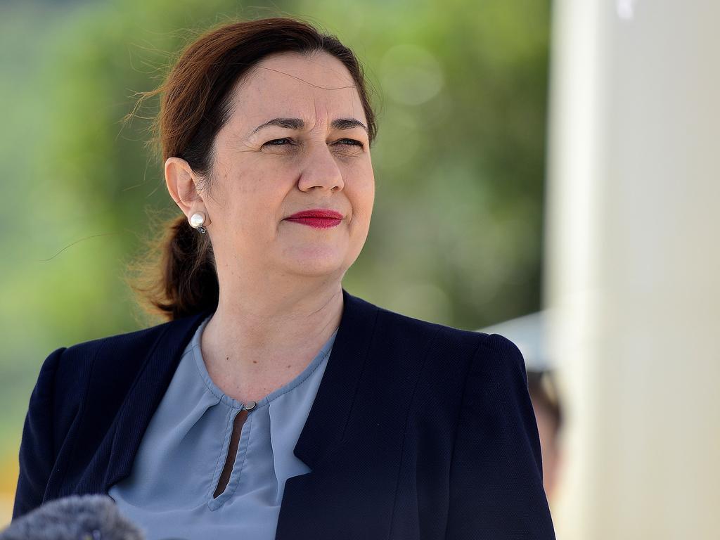 Queensland Premier Annastacia Palaszczuk PICTURE: MATT TAYLOR.