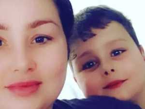 Mum drinking as son killed by dog