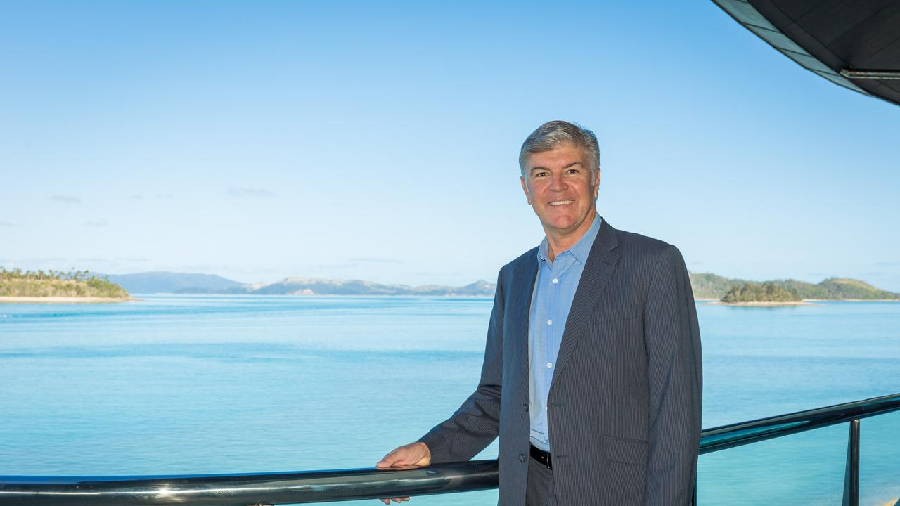 Hamilton Island CEO Glenn Bourke has been humbled to be appointed a Member of the Order of Australia for his contribution to the sport of sailing Picture: Hamilton Island