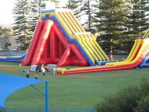 Big Wedgie: Tourist sues over giant waterslide injury