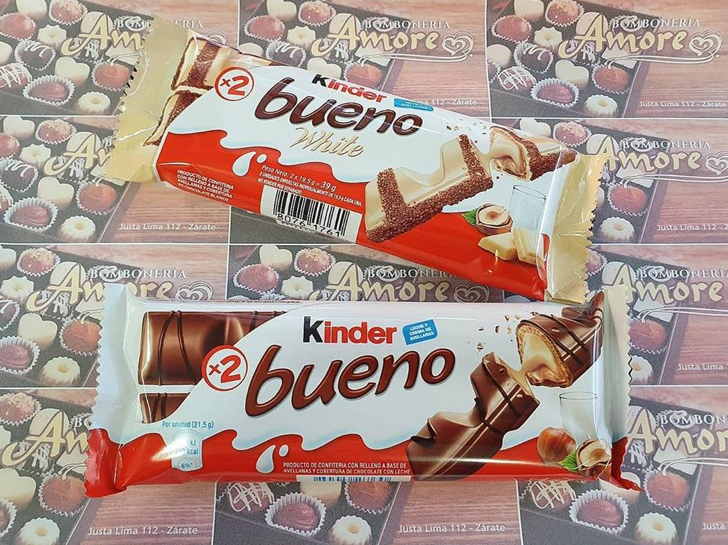 Until now we've had only original and white Kinder Bueno bars to choose from.