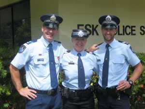 Esk officer's national recognition for flood, fire service