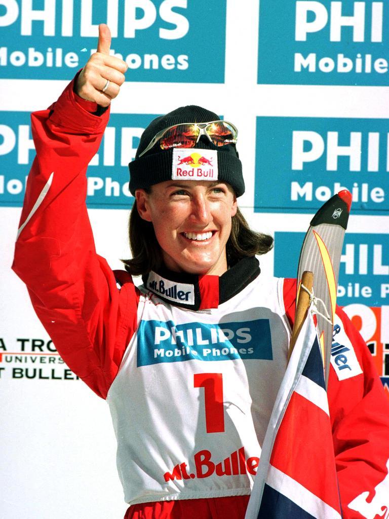 Former skier Jacqui Cooper.