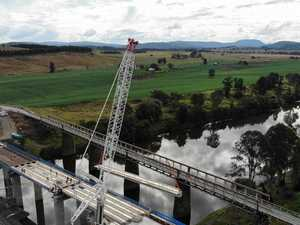 Last girder laid as opening date for new bridge draws closer