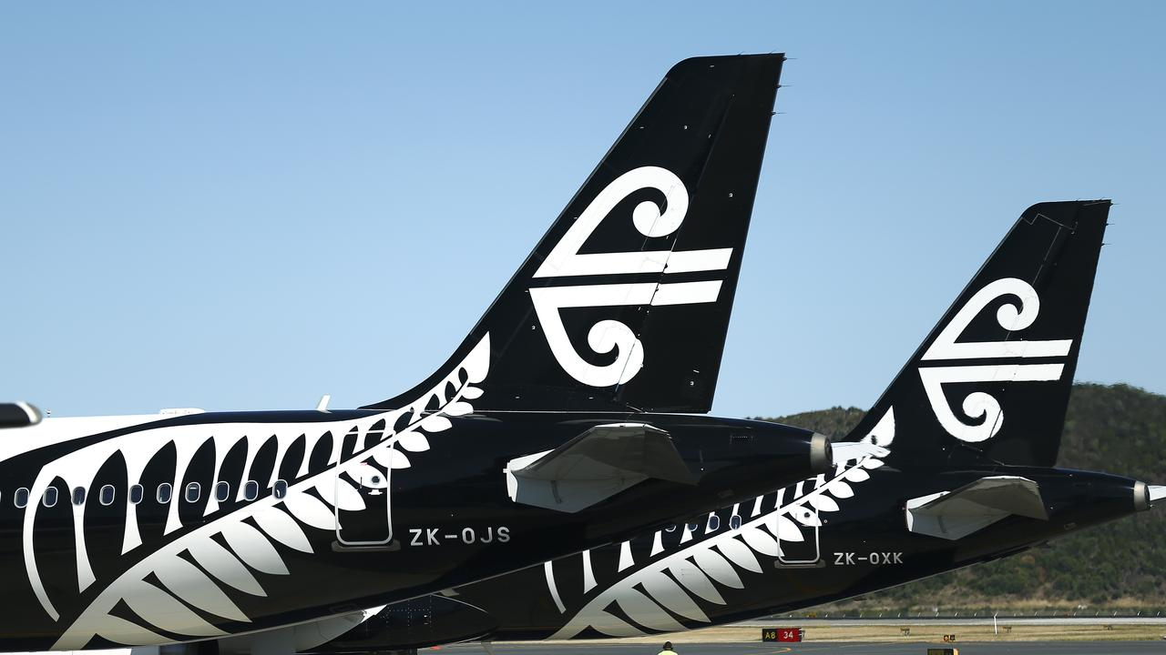 The State Government wants Air New Zealand to relaunch flights to Queensland. Picture: Hagen Hopkins/Getty Images