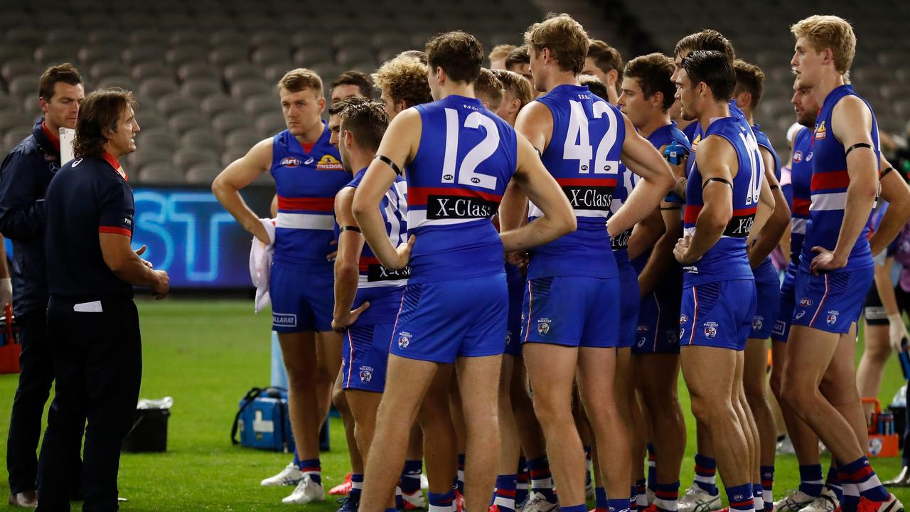 The Bulldogs are approaching an unwanted trend. Picture: Getty Images