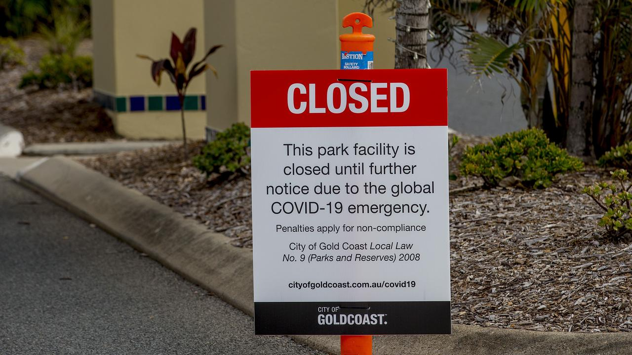 Gold Coast tourist parks have been quieter than normal due to COVID-19. Picture: Jerad Williams
