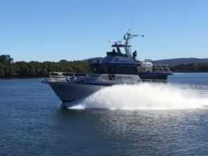 New boat makes waves at Palmers Island