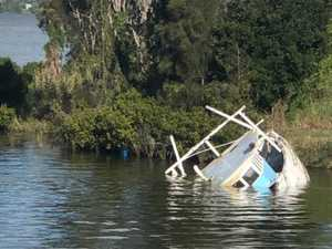 SUNK: Down river salvage mission is tougher than expected