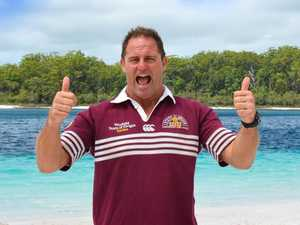 Origin legend is new ambassador for Fraser Island