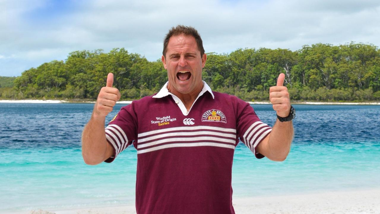 Gameday is approaching as Fraser Island's premiere tourism operators prepare to re-open, with the announcement of a new ambassador, Queensland rugby league legend, Billy Moore.