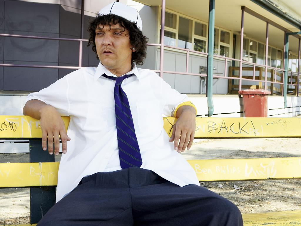 Actor Chris Lilley as Jonah, a character that has now been scrubbed from the history books.