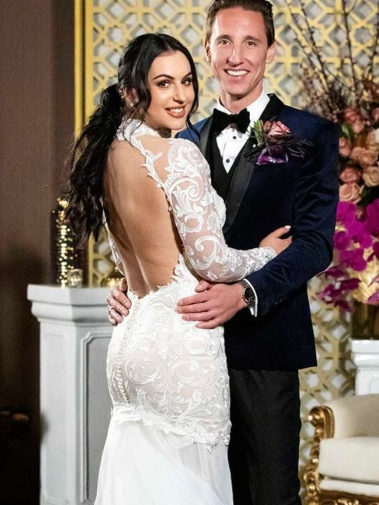 Aleks and Ivan on MAFS 2020. Picture: Instagram