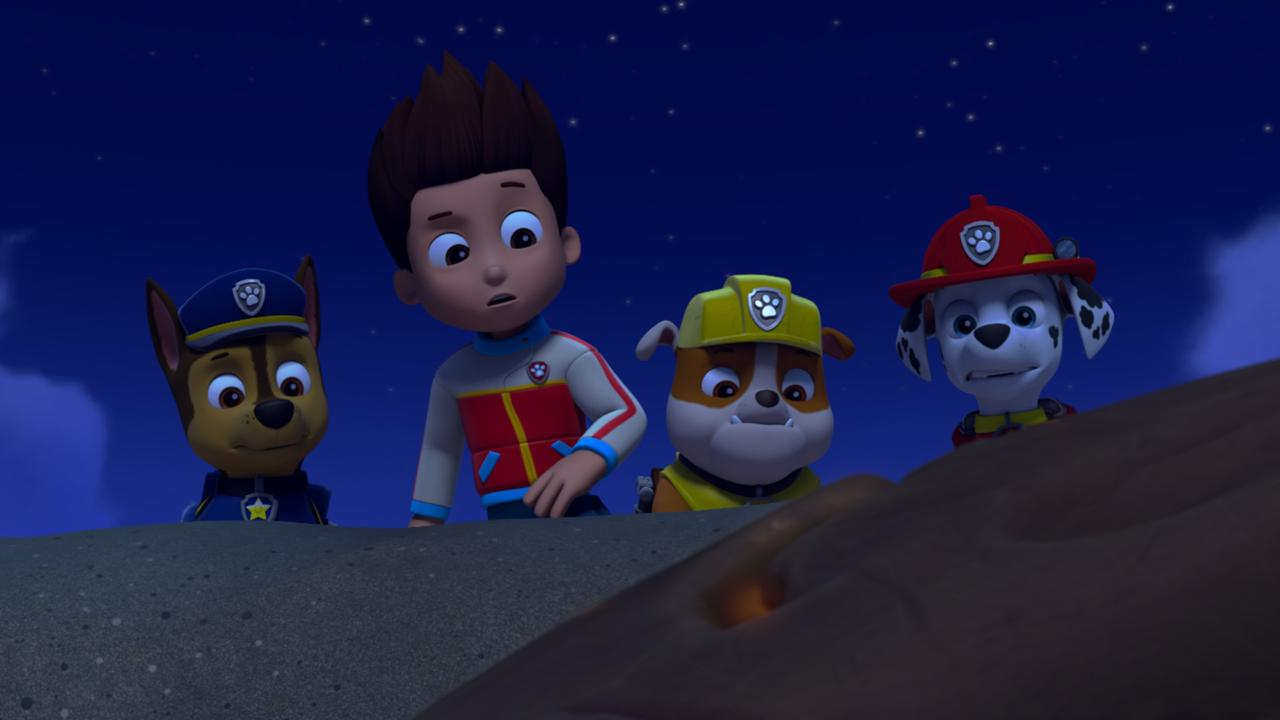 A scene from Paw Patrol.