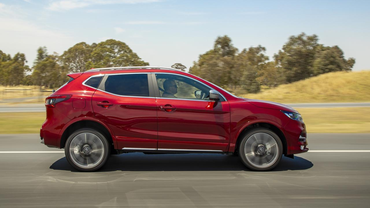 The Qashqai is the right size for small families and those who don't want a big hulking SUV.