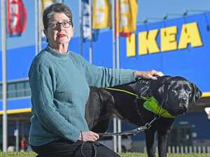 Ikea blind to guide dog rules