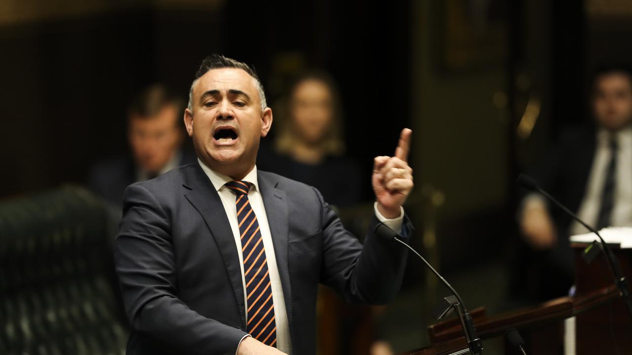 Deputy Premier John Barilaro is a diehard Manly fan. Picture: Dylan Robinson