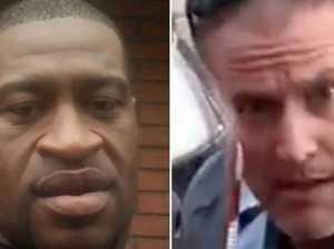 Cop, Floyd 'bumped heads' at bar job