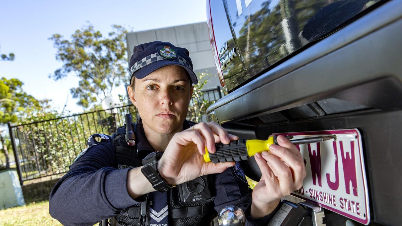 Senior Constable Jen Wallis. File photo (AAP Image/Richard Walker)