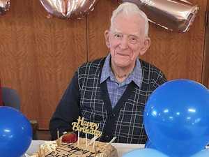 Gympie man, WWII veteran celebrates 102nd birthday