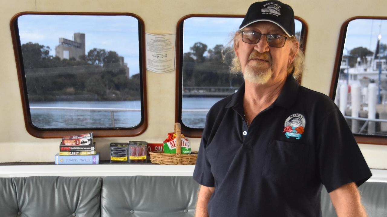 Captain of the MV Mikat Kenneth 'Kenny' Smith.