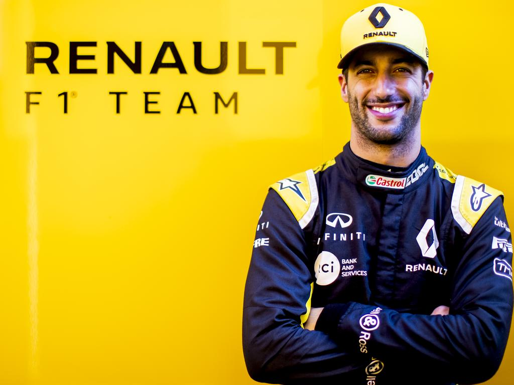 Ricciardo won't be in the yellow and black much longer.