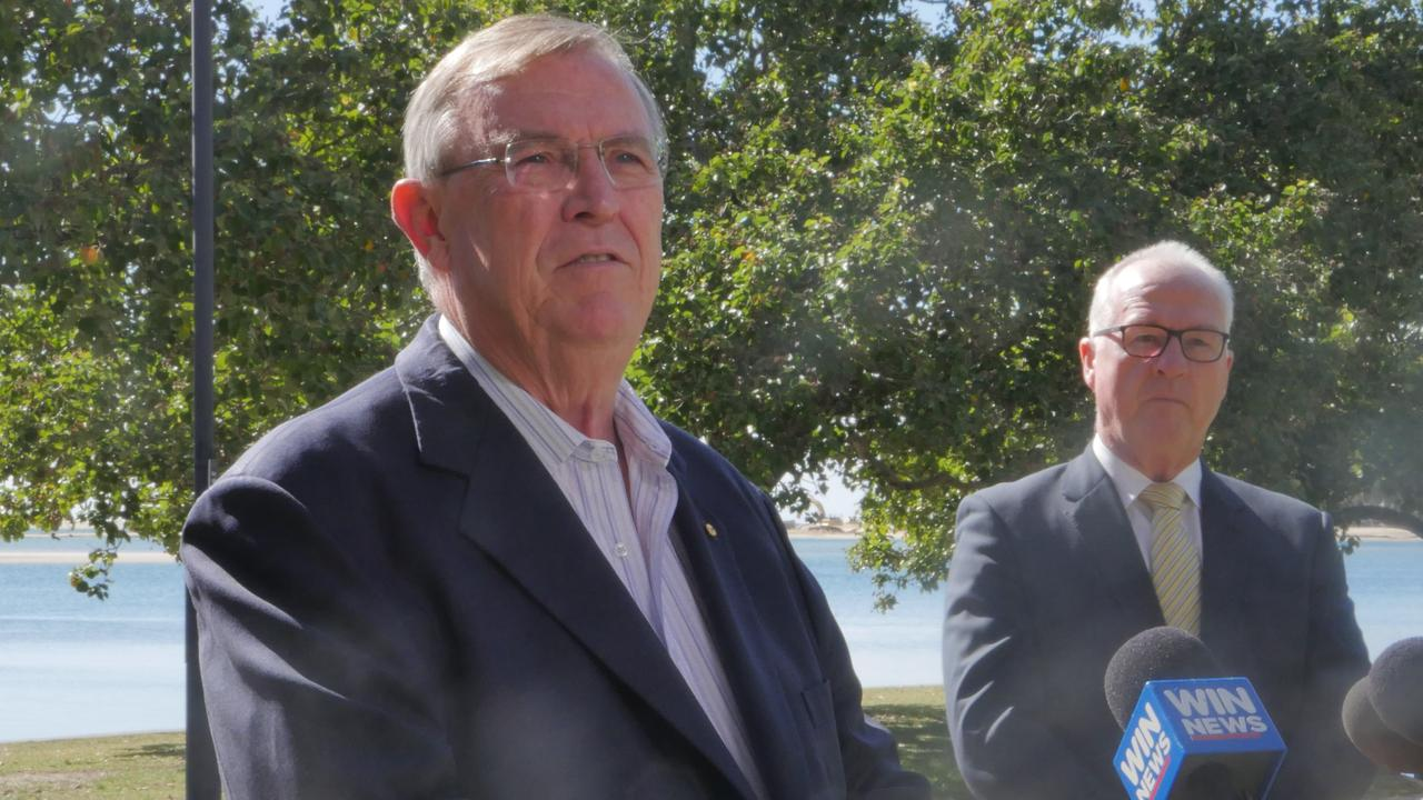 Visit Sunshine Coast chair David Ryan and Sunshine Coast Council mayor Mark Jamieson are calling on the Queensland Government to allocate $1 million in funding to the tourism organisation.