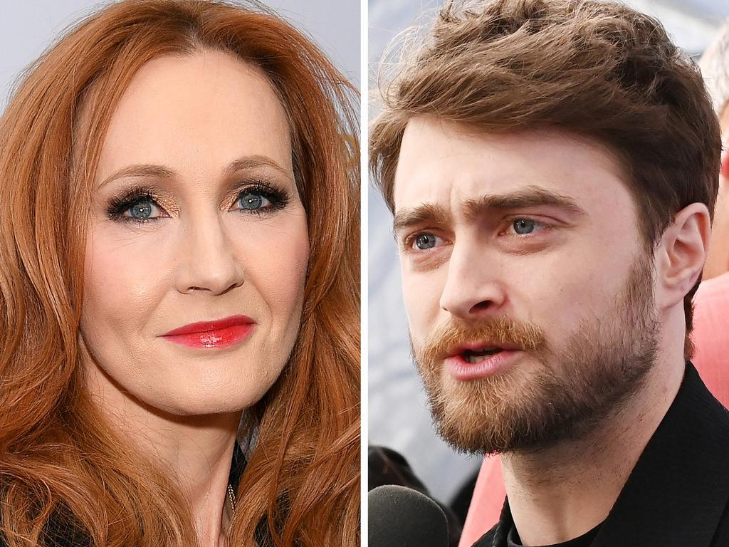 Daniel Radcliffe has apologised on behalf of Rowling. Picture: Mike Coppola/Getty Images for WarnerMedia