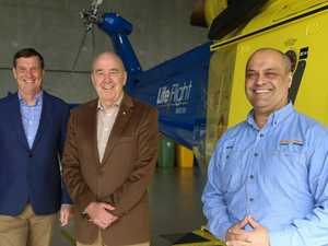 Funding secured for gas rescue chopper service