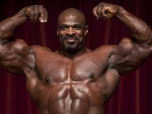Bodybuilder could not have been human