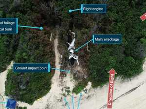 Report in air crash that killed five men is released