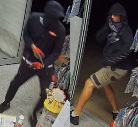 Two of the thieves from the incident.