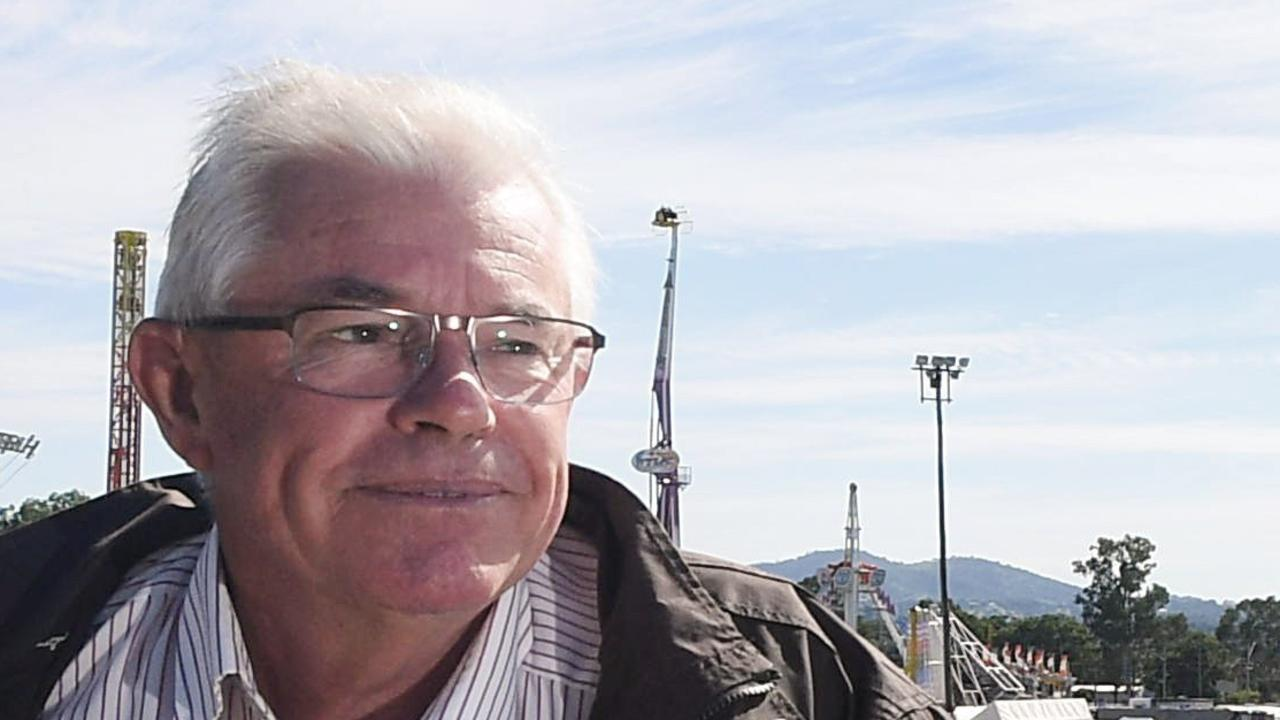 Gympie Show president Graham Engeman says $130,000 is needed for next year's Gympie Show.