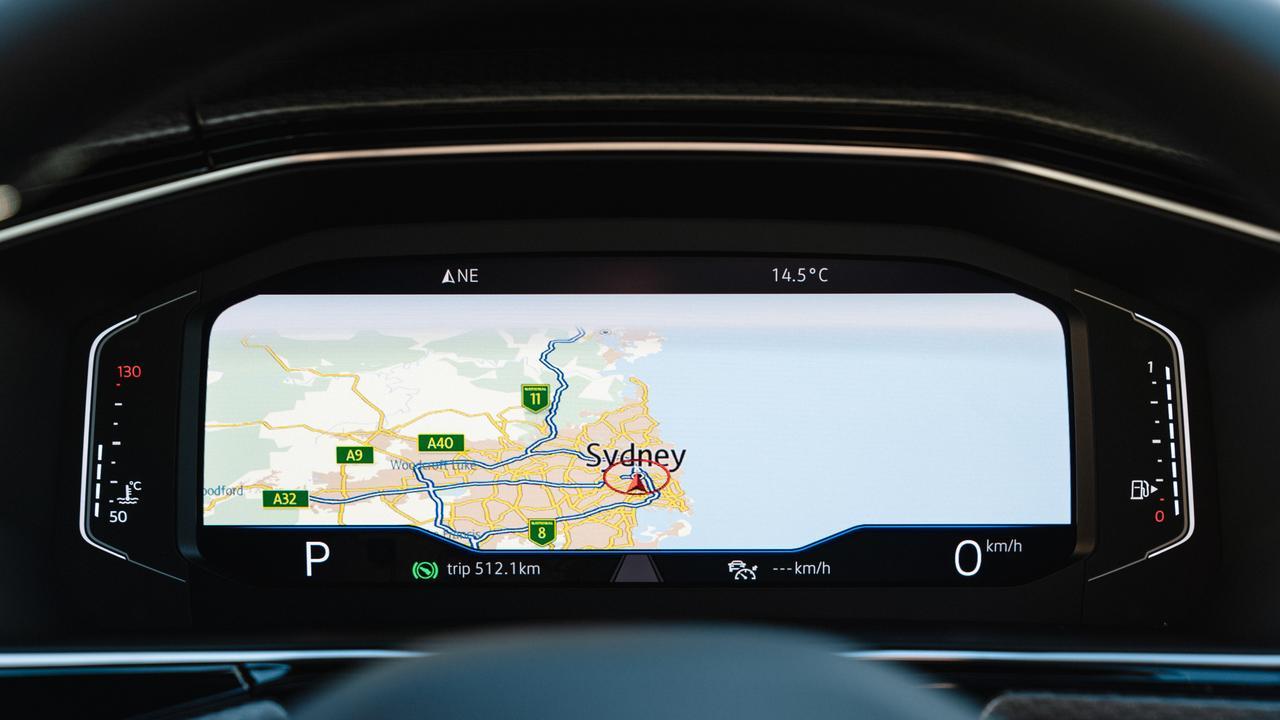 The optional driver's digital cockpit.