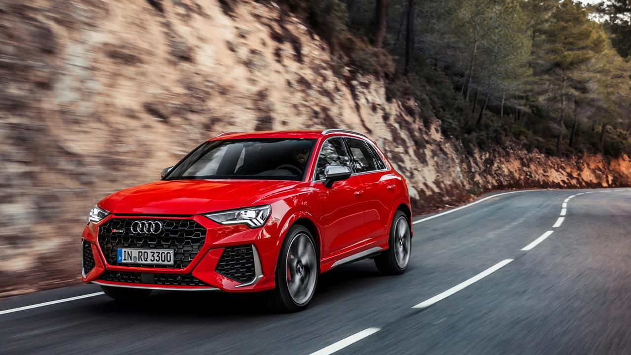 A fleet of ten 2019 and 2020 model Sports Utility Vehicles rolled into Mackay on Wednesday as part of the annual Audi roadshow.