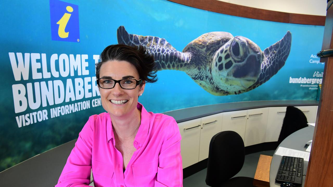 EXCITING NEWS: Bundaberg Tourism CEO Katherine Reid. Picture: Mike Knott.