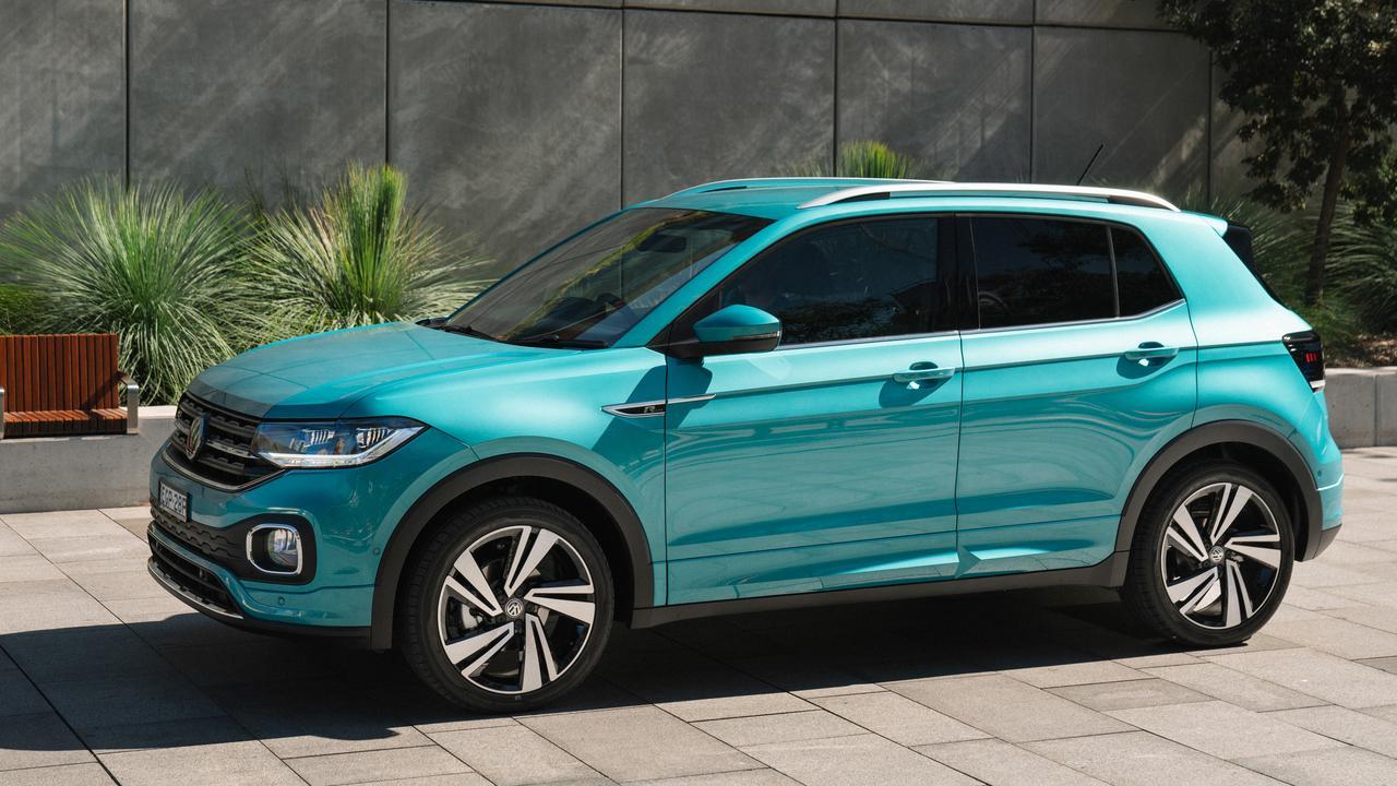 The new Volkswagen T-Cross 85TSI Style.