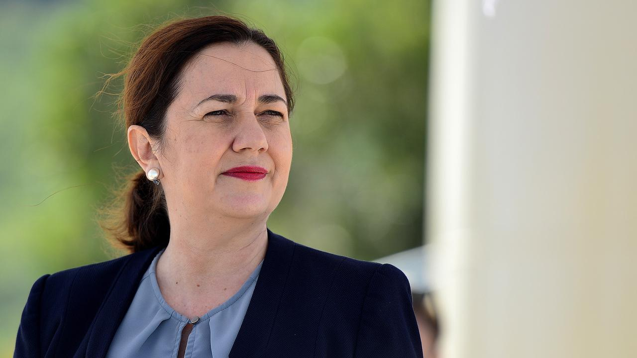 Queensland Premier Annastacia Palaszczuk's staff told the Bulletin she would not be commenting yesterday. PICTURE: MATT TAYLOR.