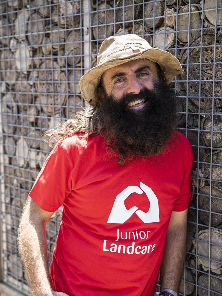 GARDENING GURU: Costa Georgiadis announces winner of Junior Landcare's 'What's in Your Backyard?' competition.
