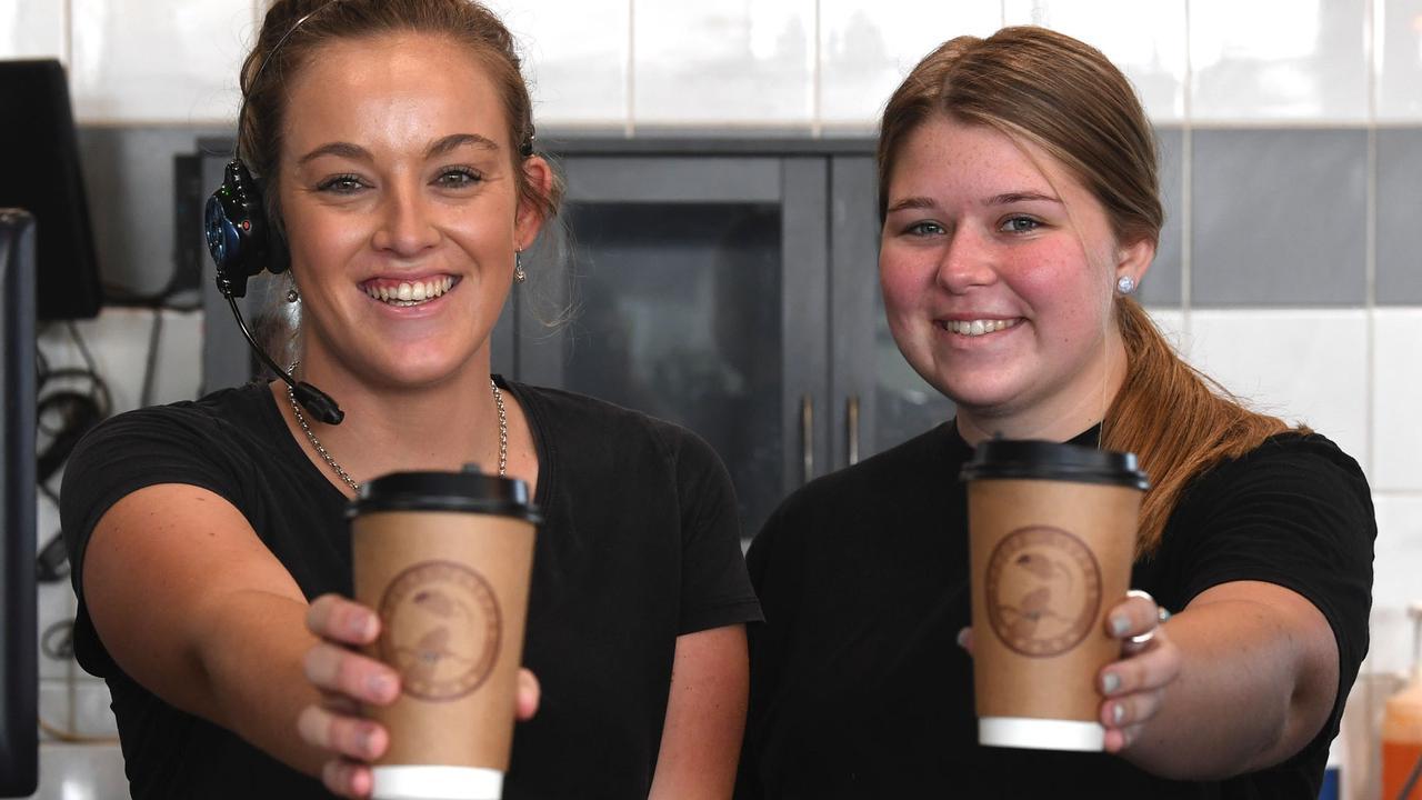 Jaida Walker and Makayla Kickbusch of Toucan Coffee