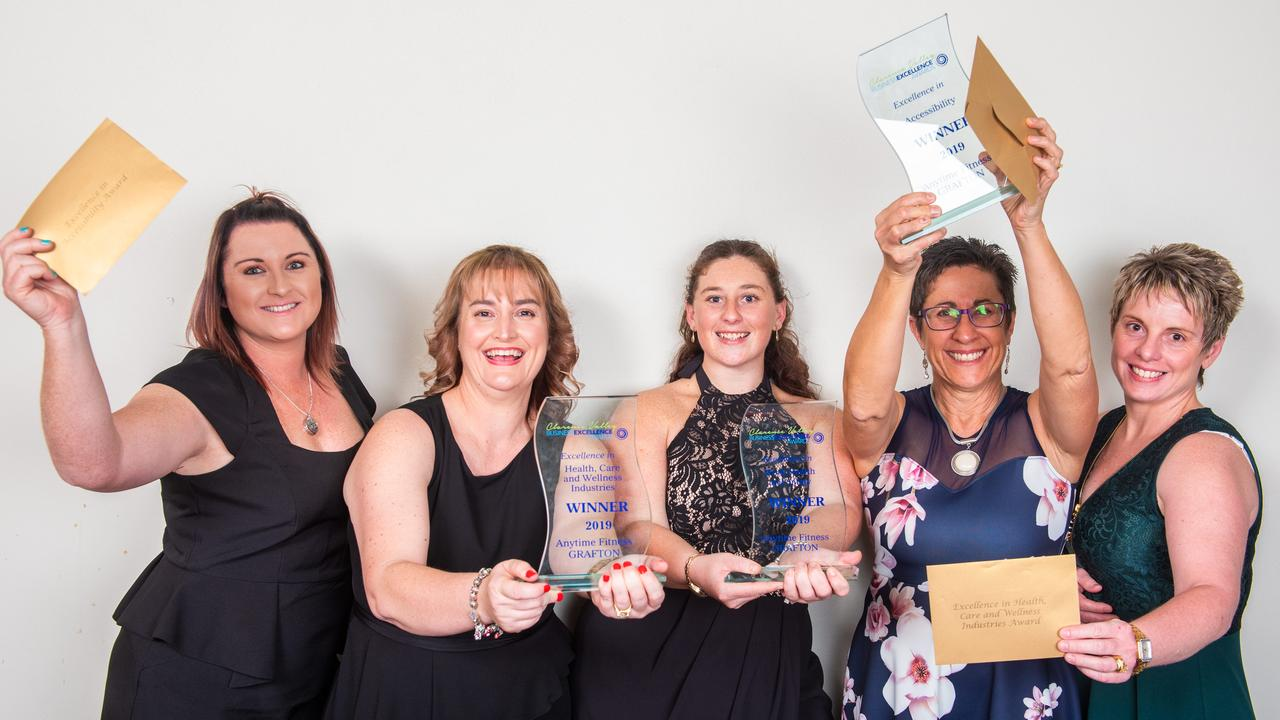 Anytime Fitness Grafton won the Clarence Valley and Northern Rivers business excellence awards for Excellence in Health, Care and Wellness Industries.